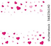 happy valentines day.... | Shutterstock .eps vector #568256140