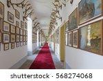 saint anton  slovakia  ... | Shutterstock . vector #568274068