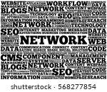 network word cloud  business...   Shutterstock . vector #568277854