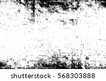 grunge black and white urban... | Shutterstock .eps vector #568303888