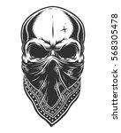 Illustration Of Skull In...