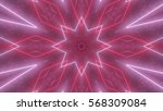 Particle Kaleidoscope. 3d...