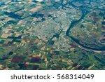 Aerial View Of Bundaberg And...