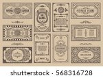 Vintage Set Retro Cards....