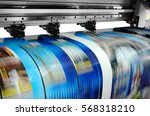 large printer format inkjet... | Shutterstock . vector #568318210