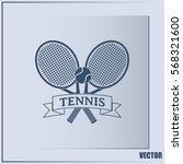 tennis icon | Shutterstock .eps vector #568321600