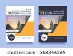 poster flyer pamphlet brochure... | Shutterstock .eps vector #568346269