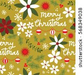 Seamless Christmas Pattern...
