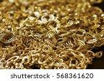 golden jewelry | Shutterstock . vector #568361620