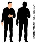 vector  isolated  silhouette of ...   Shutterstock .eps vector #568401364