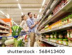 sale  consumerism and people... | Shutterstock . vector #568413400