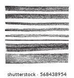 vector black design elements on ... | Shutterstock .eps vector #568438954