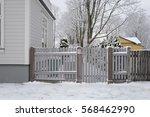 winter view | Shutterstock . vector #568462990