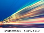 abstract image of blur motion... | Shutterstock . vector #568475110