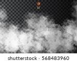 fog or smoke isolated... | Shutterstock .eps vector #568483960