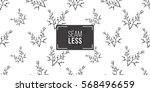 vintage seamless pattern with... | Shutterstock .eps vector #568496659