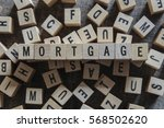 mortgage word concept | Shutterstock . vector #568502620