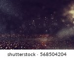 glitter vintage lights... | Shutterstock . vector #568504204