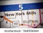 new york mills. minnesota. usa | Shutterstock . vector #568506064