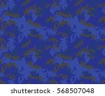 fashionable camouflage pattern  ... | Shutterstock .eps vector #568507048