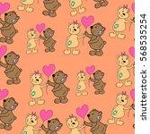 pattern of bears. | Shutterstock .eps vector #568535254