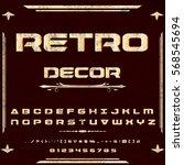 script handcrafted vector...   Shutterstock .eps vector #568545694