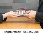 mortgage home   Shutterstock . vector #568557208