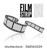 film strip vector illustration... | Shutterstock .eps vector #568563334