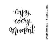 black and white handwriting... | Shutterstock .eps vector #568582288