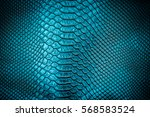 blue leather texture  use for... | Shutterstock . vector #568583524