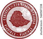 vintage ethiopia african... | Shutterstock .eps vector #568587238
