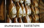 parma ham professional and... | Shutterstock . vector #568587694