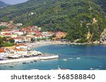 parga greece | Shutterstock . vector #568588840
