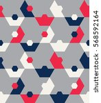 seamless geometric background.... | Shutterstock .eps vector #568592164