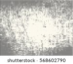 background with dots . halftone ... | Shutterstock .eps vector #568602790