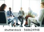creative business people... | Shutterstock . vector #568624948