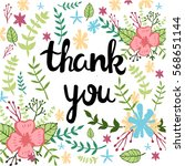 "hand written phrase ""thank you... 