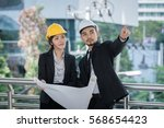 architecture worker man and...   Shutterstock . vector #568654423