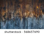 old weathered wooden wall...   Shutterstock . vector #568657690