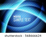 blue abstract template for card