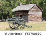 Civil War Cabin   Jail With...