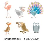 vector illustration of a six... | Shutterstock .eps vector #568709224