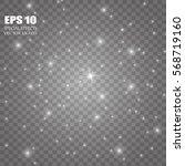 glow light effect. star burst... | Shutterstock .eps vector #568719160