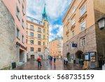 innsbruck  austria   june 2 ...   Shutterstock . vector #568735159