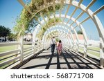 film color tone image of a... | Shutterstock . vector #568771708