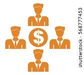 vector illustration of orange... | Shutterstock .eps vector #568777453