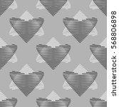 seamless pattern. stylized... | Shutterstock .eps vector #568806898