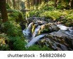 The Cascades Of Sol Duc Falls ...
