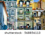 lisbon  portugal   january 05 ... | Shutterstock . vector #568856113