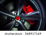 large alloy wheel with of...   Shutterstock . vector #568917169